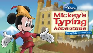 Mickey's Typing Adventure cover