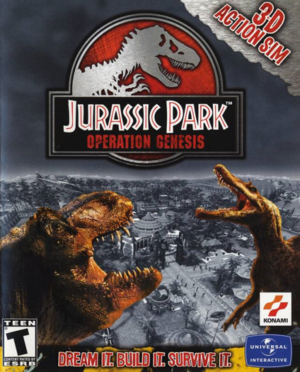 Jurassic Park: Operation Genesis cover