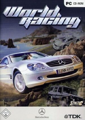 Mercedes-Benz World Racing cover
