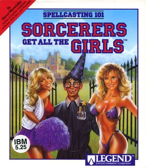 Spellcasting 101: Sorcerers Get All the Girls cover