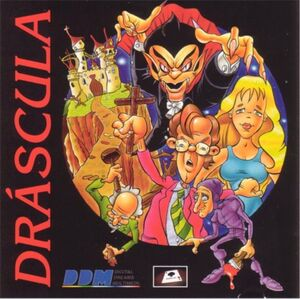 Dráscula: The Vampire Strikes Back cover