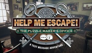 Help Me Escape! The Puzzle Maker's Office cover