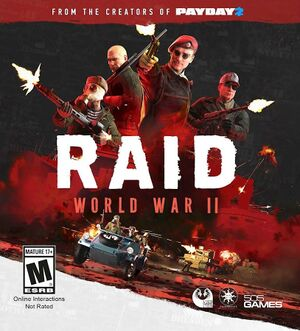 RAID: World War II cover