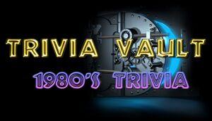 Trivia Vault: 1980's Trivia cover