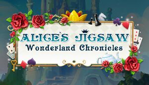 Alice's Jigsaw. Wonderland Chronicles cover