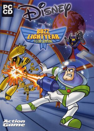 Buzz Lightyear of Star Command cover