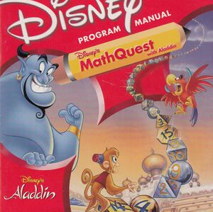 Disney's Math Quest with Aladdin cover