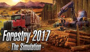 Forestry 2017 - The Simulation cover