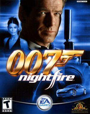James Bond 007: Nightfire cover