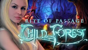 Rite of Passage: Child of the Forest cover