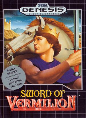 Sword of Vermilion cover