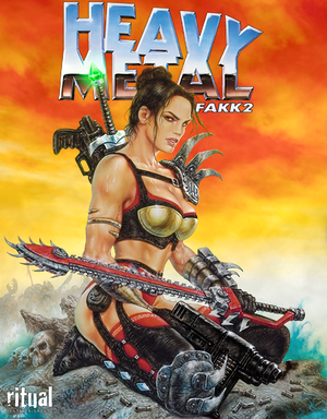 Heavy Metal: F.A.K.K. 2 cover