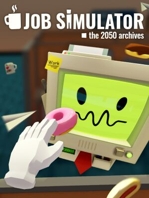 Job Simulator: The 2050 Archives cover