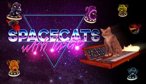 Spacecats with Lasers: The Outerspace cover