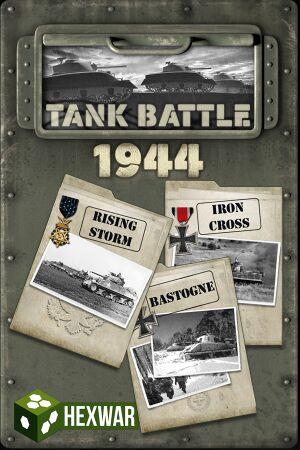 Tank Battle: 1944 cover