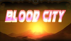 Blood City cover
