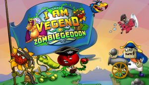 I Am Vegend - Zombiegeddon cover