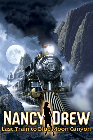 Nancy Drew: Last Train to Blue Moon Canyon cover