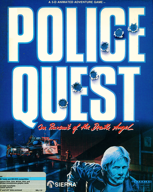 Police Quest: In Pursuit of the Death Angel cover