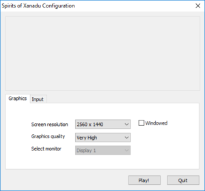 Launcher video settings (use Steam launch option or -show-screen-selector parameter).[2]