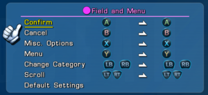 Gamepad rebinding.