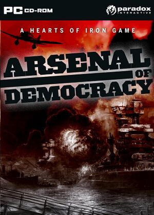 Arsenal of Democracy A Hearts of Iron Game cover.jpg