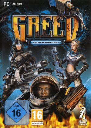 Greed: Black Border cover