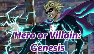 Hero or Villain: Genesis cover