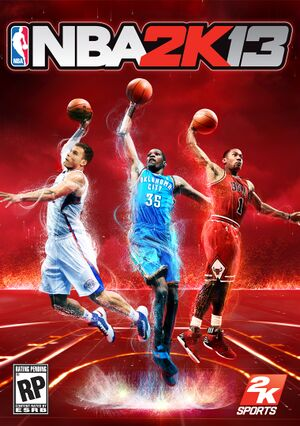 NBA 2K13 cover