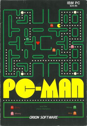 PC-Man cover