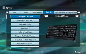 Keyboard/Mouse remap settings