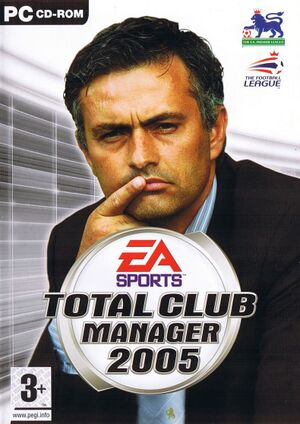 Total Club Manager 2005 cover