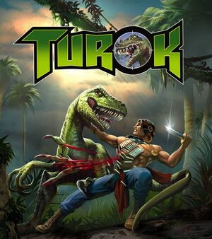 Turok: Dinosaur Hunter cover