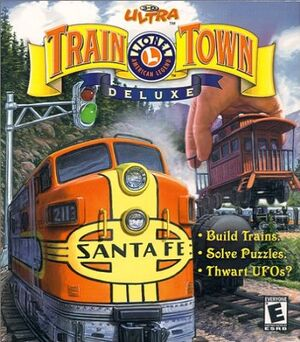 3-D Ultra Lionel Train Town cover
