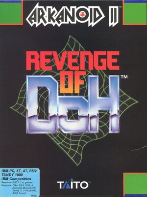 Arkanoid: Revenge of Doh cover