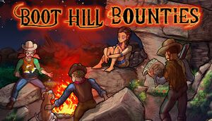 Boot Hill Bounties cover
