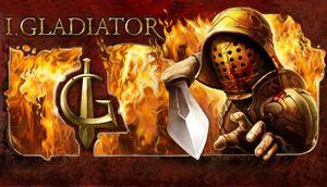 I, Gladiator cover