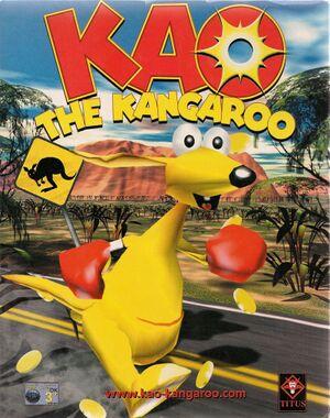 Kao the Kangaroo cover