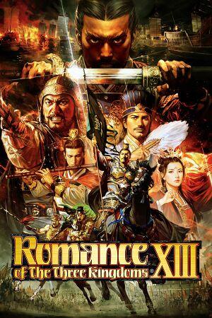 Romance of the Three Kingdoms 13 cover