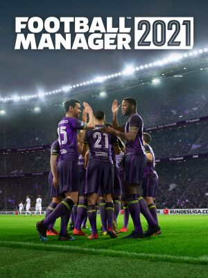 Football Manager 2021 cover