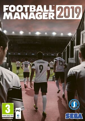 Football Manager 2019 cover