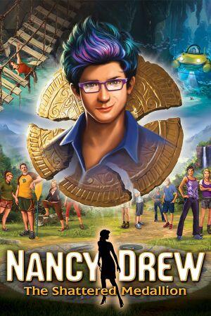 Nancy Drew: The Shattered Medallion cover