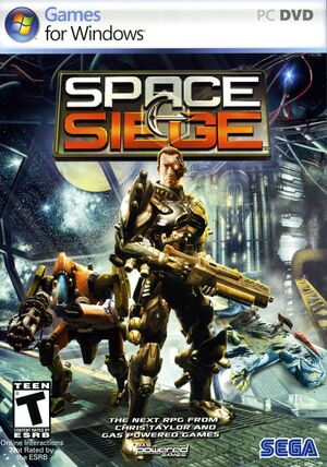 Space Siege cover