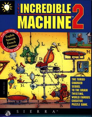 The Incredible Machine 2 cover