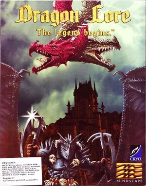 Dragon Lore: The Legend Begins cover