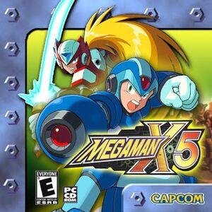 Mega Man X5 cover