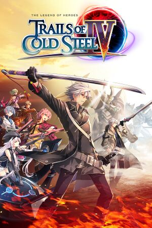 The Legend of Heroes:Trails of Cold Steel IV cover