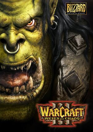 Warcraft III: Reign of Chaos cover