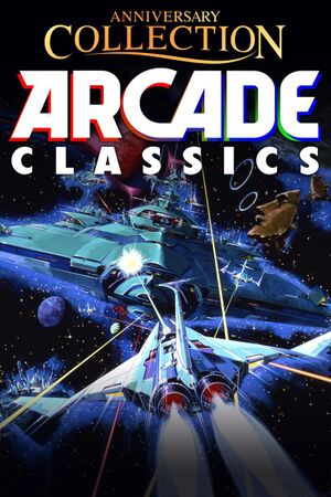 Arcade Classics Anniversary Collection cover
