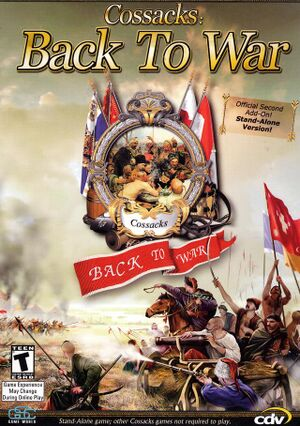 Cossacks: Back to War cover